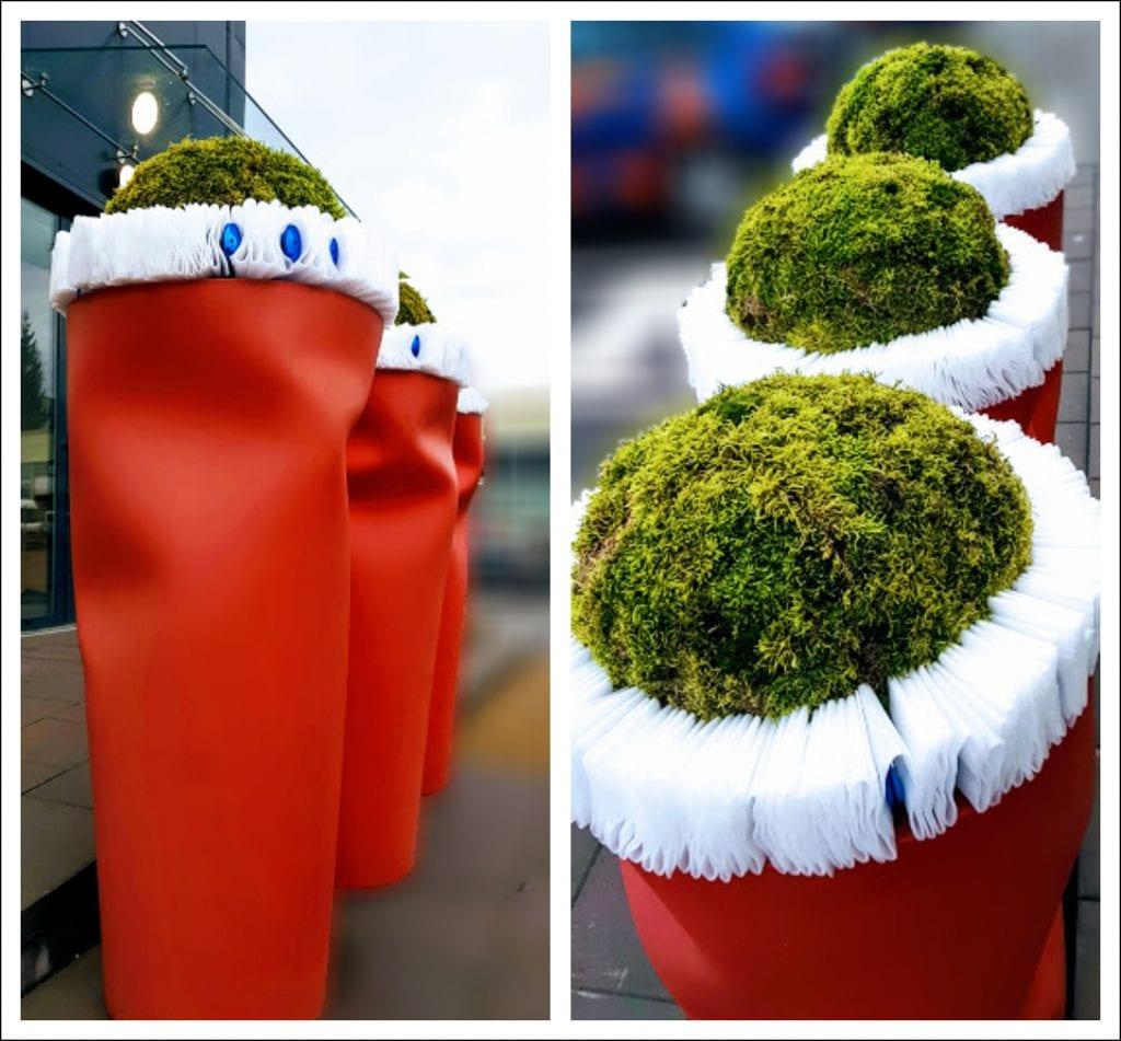 HORTUS MAGICUS Kalėdos-lauko-vazonuose.Outdoors Cristmas Decoration