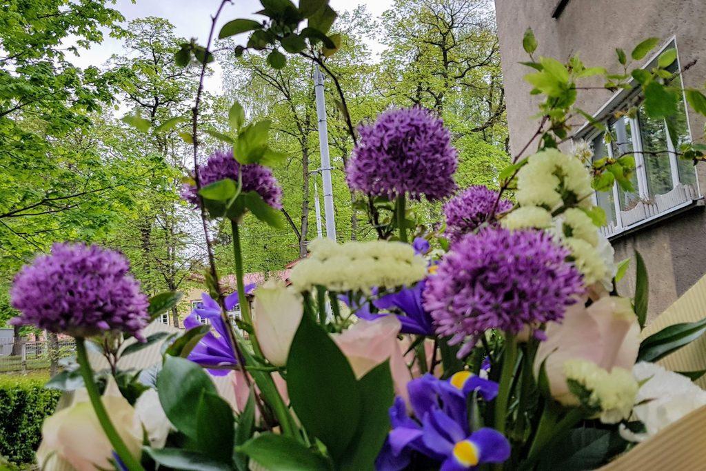 HORTUS MAGICUS.Puokščių pristatymas. Flower delivery-