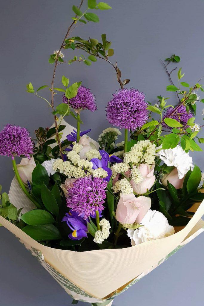 HORTUS MAGICUS.Puokščių pristaymas. Flower delivery
